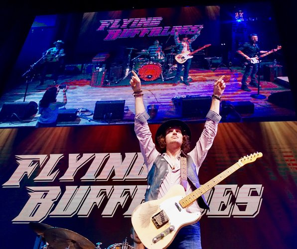 The Flying Buffaloes Are Loaded and Rollin' into Cedar Rapids, July, 2nd!