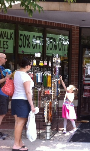 Sidewalk Sales at Beadology Iowa