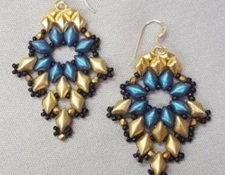 Search gem duo earrings beadology iowa