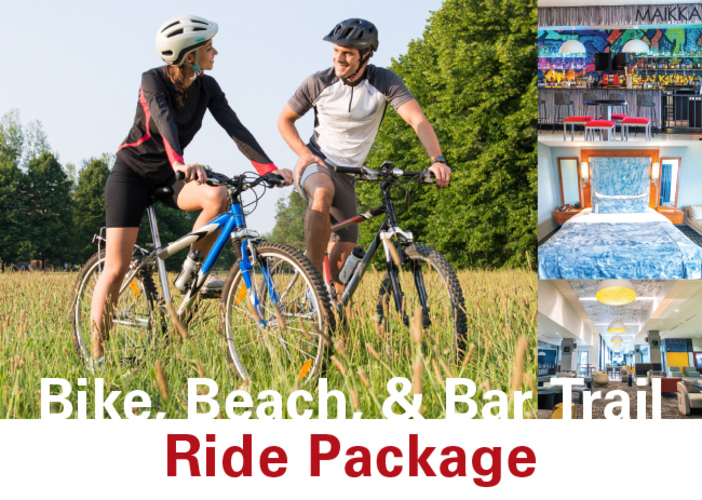 Bike, Bar, & Beach Trail Ride Package