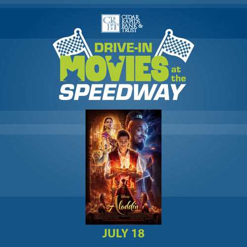 CRBT Drive-In Movies at the Speedway