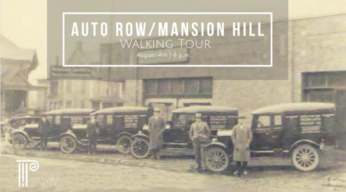 Walking Tour - Auto Row/Mansion Hill