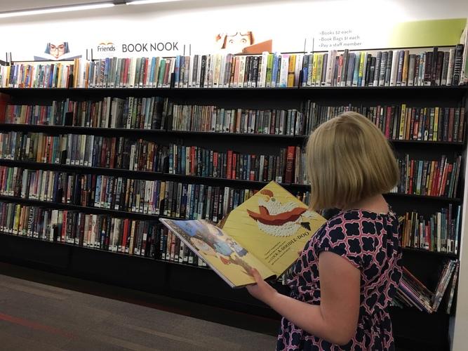 Kids' Drive Up Bag of Books Sale