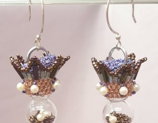 Search filled ornament earrings beadology iowa