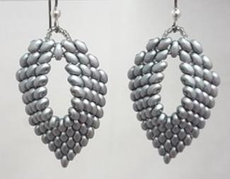 Search superduo leaf earrings beadology iowa
