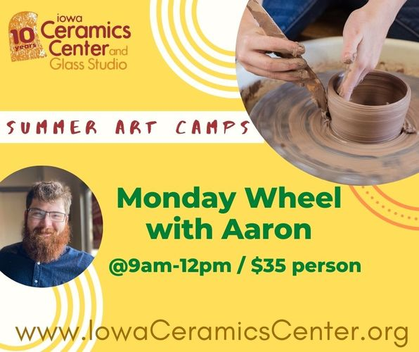 Summer Youth Art Camps at ICCGS: Wheel Summer Workshop (5MA)
