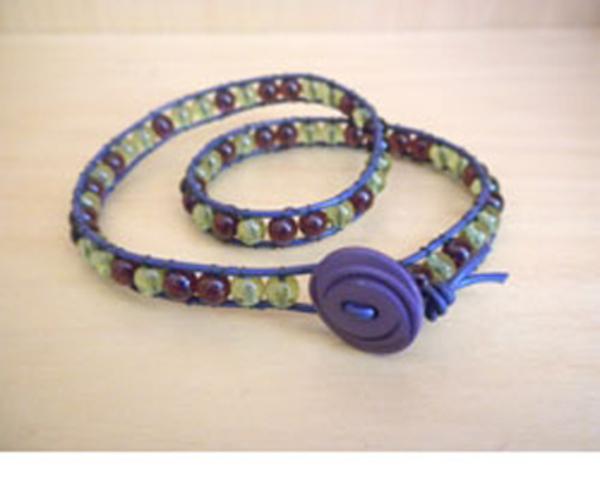 Knock off Wrapped Bracelet