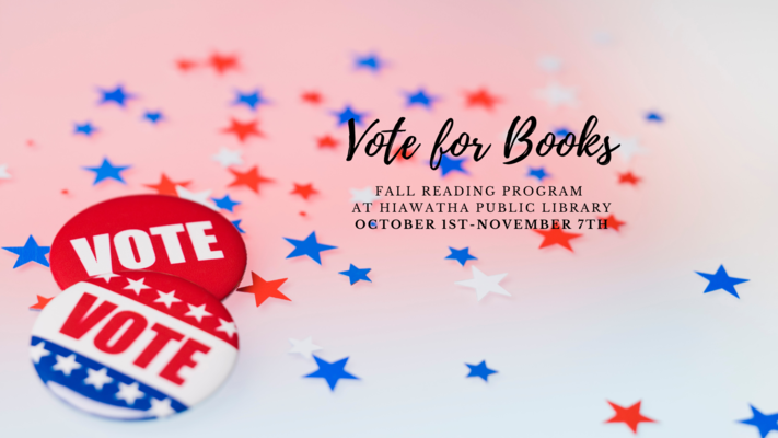 Fall Reading Program-Vote For Books!