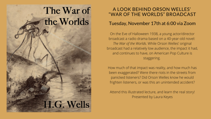 """A Look Behind Orson Welles' """"War of the Worlds"""" Broadcast"""