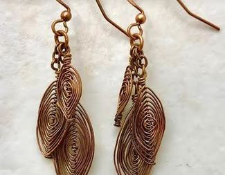 Search zanetta hoehle herringbone earrings beadology iowa