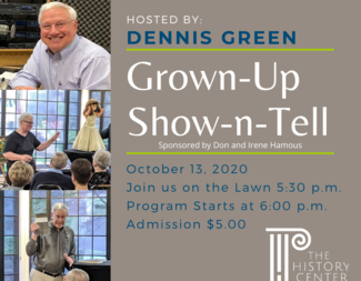 Search grown up show n tell october