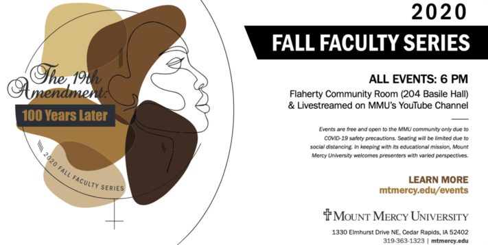 Fall Faculty Series: Portraits of American Suffragettes: Troublemakers or Trailblazers?