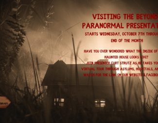 Search visiting the beyond paranormal presentation  2