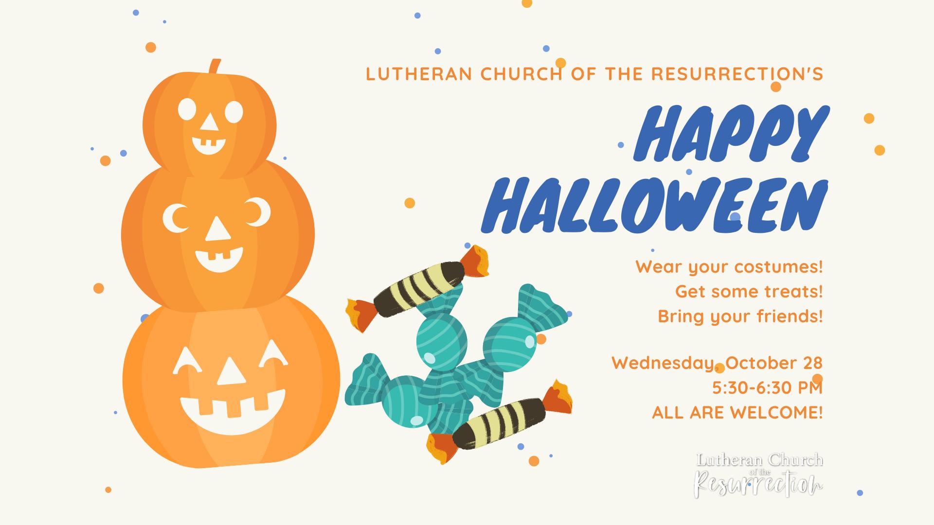 Halloween 2020 Resurrection Church LCR's Happy Halloween!   Hoopla