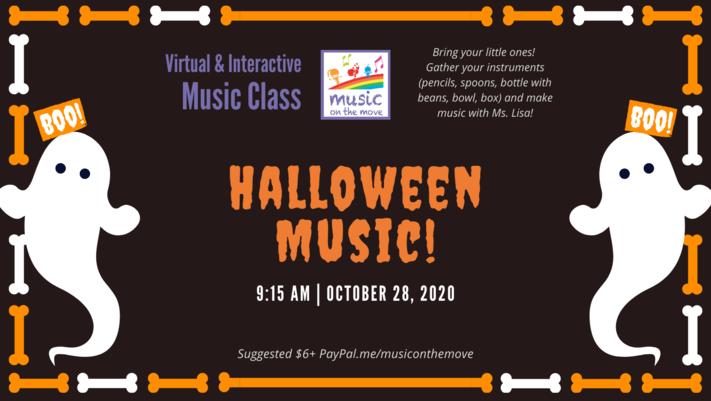 Halloween Family Music Class