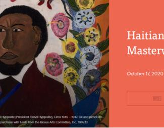 Haitian Masterworks Art Exhibit