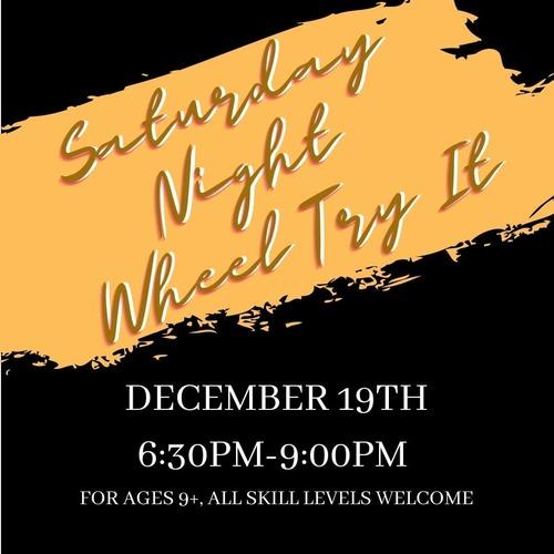 Saturday Night Wheel Try It--at ICCGS