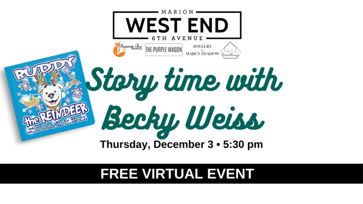 Virtual Story Time with Becky Weiss