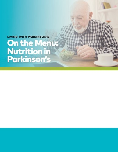 On The Menu - Nutrition in Parkinson's