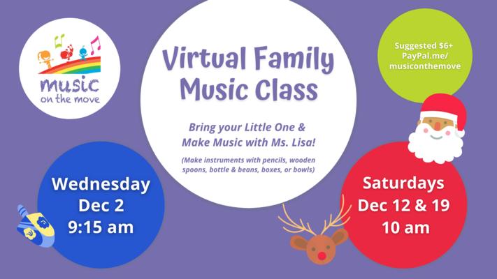 Virtual Family Music Class