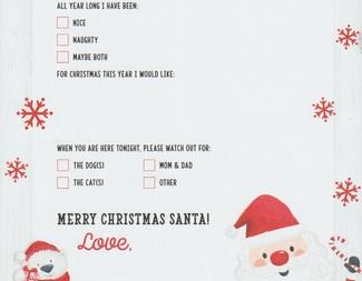 Search santa letter