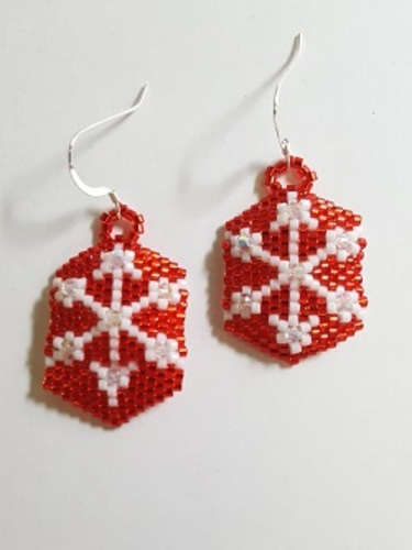Gyrls Night Out:  Snowflake Earrings