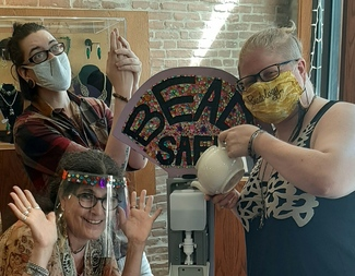 Search beadology iowa staff masked beadology iowa
