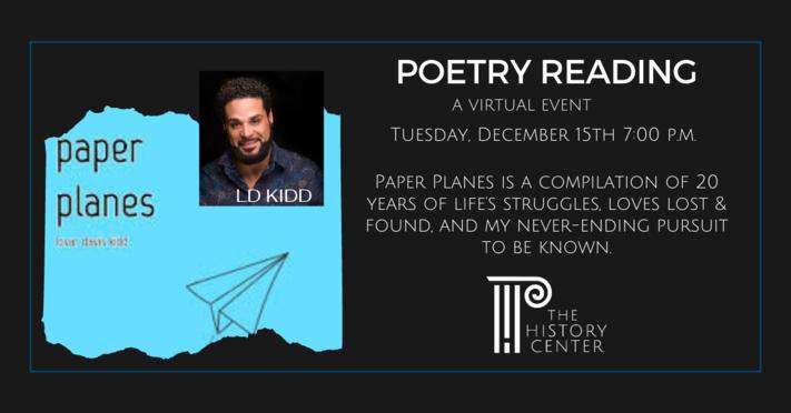 Poetry Reading - LD Kidd