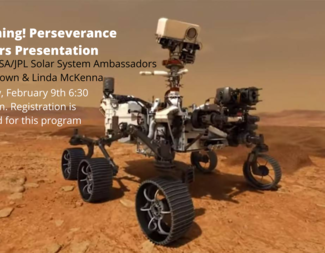 Search mars perseverance rover program