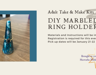 Search marbled ring holder