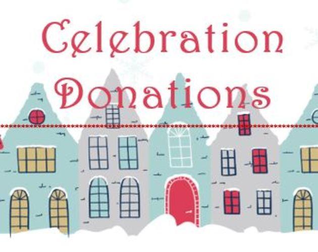 Celebration Donations