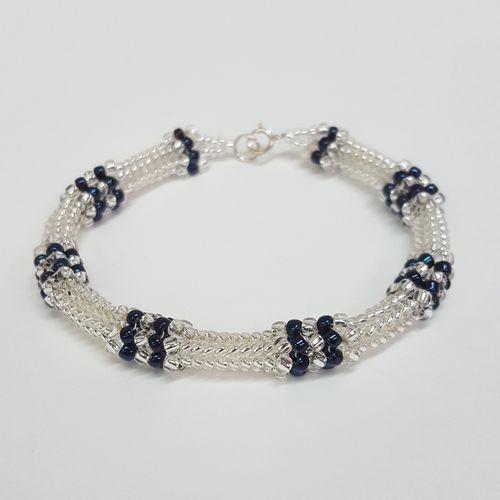 Design a Dazzling Herringbone Bracelet