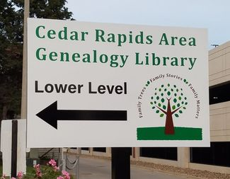 Cedar Rapids Area Genealogy Library