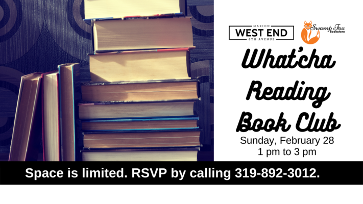 What'cha Reading Book Club - In Person