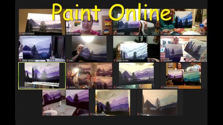 Online Painting - Cowboy Boot- Cork n Canvas Iowa