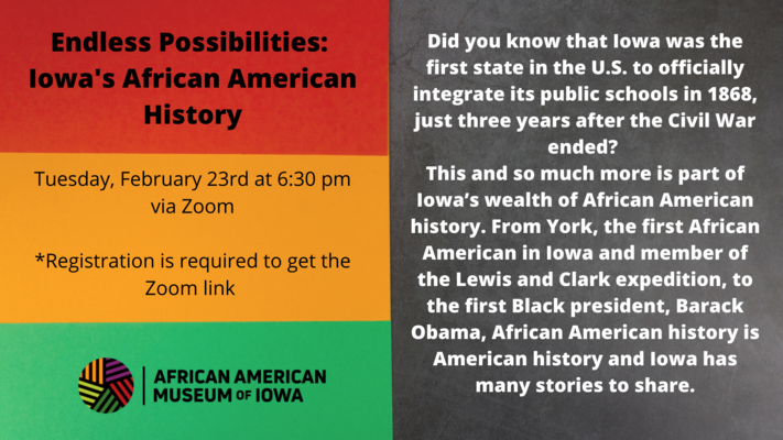 Endless Possibilities: Iowa's African American History