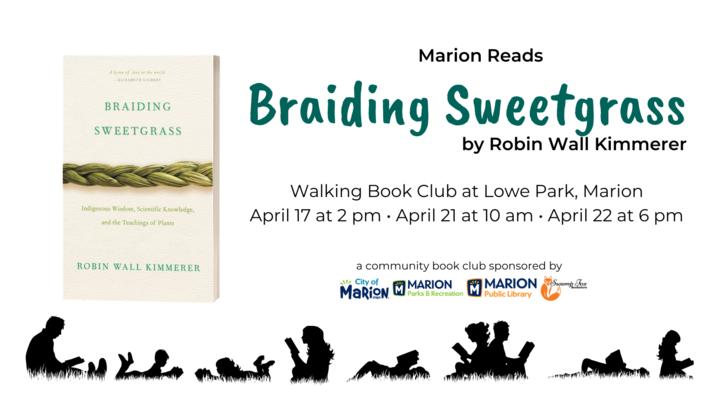 Braiding Sweetgrass Walking Book Club