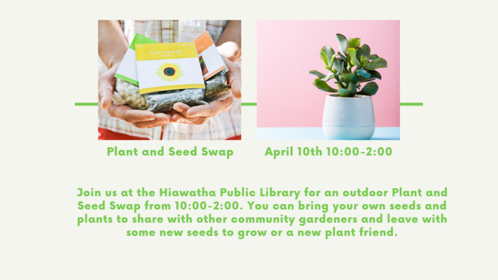 Plant and Seed Swap