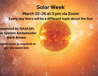 Search solar week