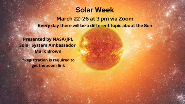 Solar Week: How to Observe the Sun Safely