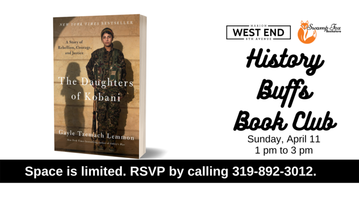 History Buffs Book Club - In Person
