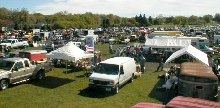 Iowa State Fairgrounds Auto Parts Swap Meet
