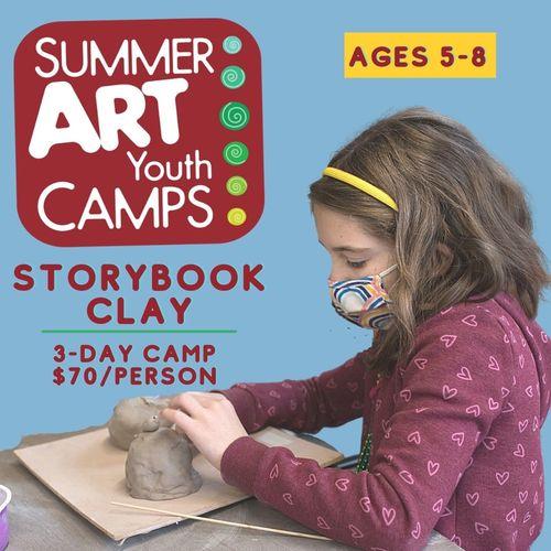 Summer Art Camp: Storybook Clay 5A3