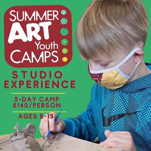 Summer Art Camp: Ceramic Studio Experience (3A5)