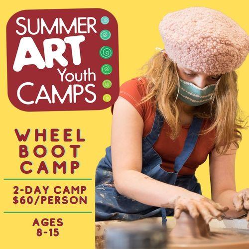 Summer Art Camp: Summer Wheel Boot Camp (1A2)