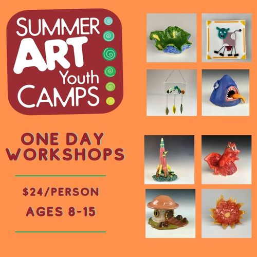 Summer Camp Workshop: Glass Pocket Vase Summer Workshop (5P1GF)