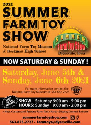 Summer Farm Toy Show