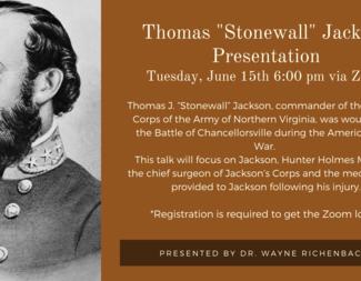 Search stonewall jackson program