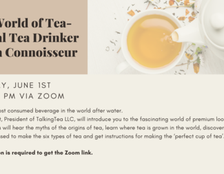 Search the world of tea presentation