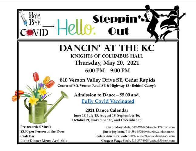 Steppin' Out at the KC - DANCE
